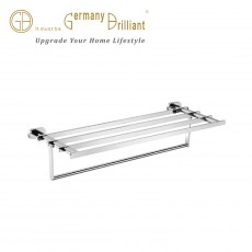 DOUBLE TOWEL BAR 69112