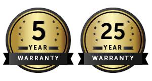 Jaminan Garansi 5 hingga 25 Tahun
