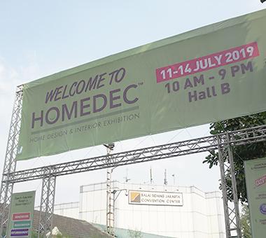 HOMEDEC EXHIBITION 2019