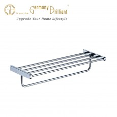 DOUBLE TOWEL BAR 8-DC