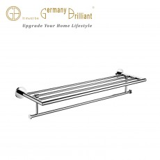 DOUBLE TOWEL BAR 2312-75BP