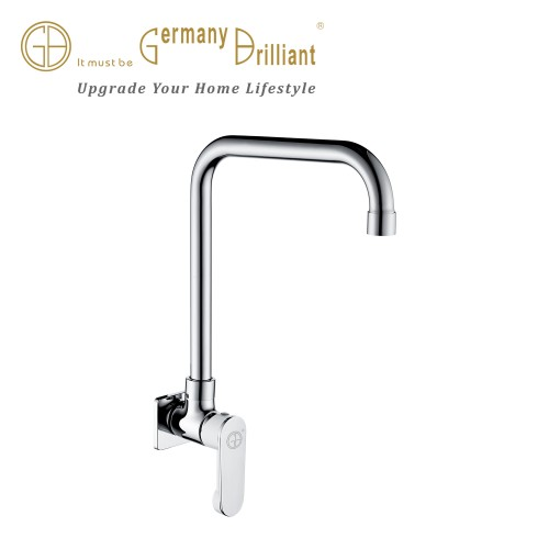In-Wall Single Lever Kitchen Sink Tap 8216-C