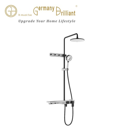 LUXURY MIXER SHOWER SET 89B